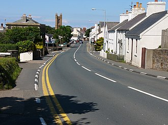 Michael, Isle of Man - Image: Kirk Michael, The A3 geograph.org.uk 481850