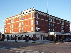 Travelers Hotel (Kirksville, Missouri) - Kirksville Traveler's Hotel, January 2011
