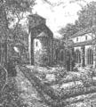 Klostergarten der Michaelsbasilika von Heinrich Hoffmann.png