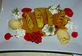 Klosterstübel St. Marienstern - Thymian-Eis mit gegrillter Ananas 1.JPG
