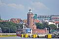 Kołobrzeg, Hafen, Leuchtturm, f (2011-07-26) by Klugschnacker in Wikipedia.jpg