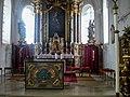 Kochel am See, St. Michael, Chor 2008-07.jpg