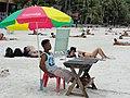 Koh Phangan, Haad Rin Sunrise Beach (6218390654).jpg