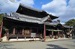 Kokawa Temple, as known sightseeing spot in Kinokawa