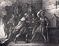 Konung Alf dödar konung Yngve by Hugo Hamilton.jpg