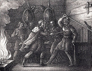Yngling - Yngvi and Alf slaying each other.