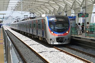 Suin Line commuter subway line of Korail