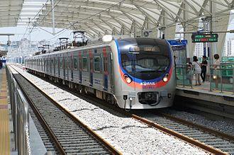Suin Line - Image: Korail Emu 351060 3rd