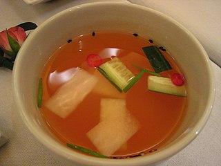 Nabak-kimchi A watery kimchi made of thinly sliced Korean radish and napa cabbage