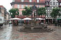 Kornmarkt Göttingen Gänselieselbrunnen.jpg