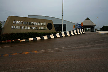 Internationale Flughafen Krabi