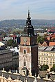 Krakow - Rynek - Town Hall Tower from Basilica.jpg