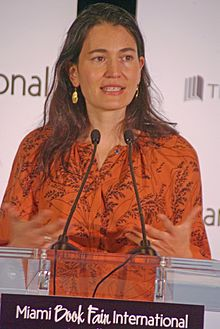 Nicole Krauss at the 2011 Miami Book Fair International