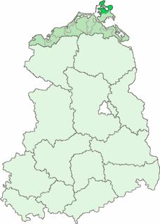 Kreis Bergen rural district of East Germany