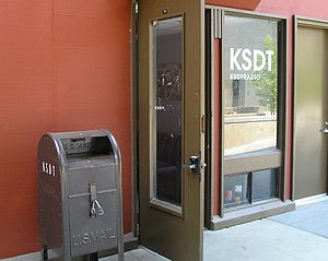 KSDT Radio - KSDT Radio in July 2008