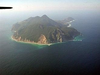Tokara Islands - Image: Kuchinoshima 20031019 2