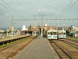 Kuroishi Station (Aomori) - Kuroishi Station platform