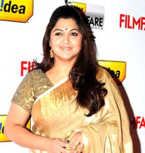 Kushboo - Khushbu at the 60th Filmfare Awards South