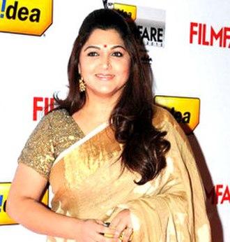 Kushboo - Khushbu at the 60th Filmfare Awards South