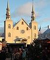 L'église de Sainte-Famille à Cap-Santé pendant le Marche-de-Noël 01.jpg
