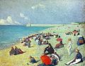 Léon Pourteau - Sur la plage.jpg