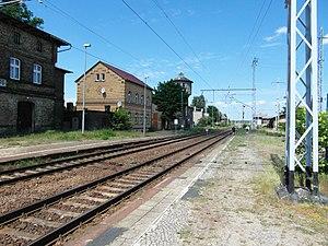 Löwenberg (Mark) station - Löwenberg railway station