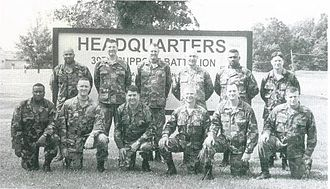 39th Brigade Support Battalion (United States) - LTC Don Brooks and Staff, 2002