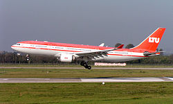 Airbus A330-200 авиакомпании LTU.