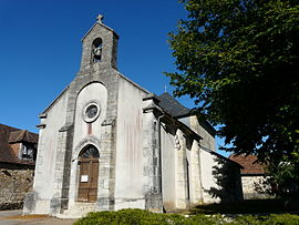 The church in La Chapelle-Saint-Jean