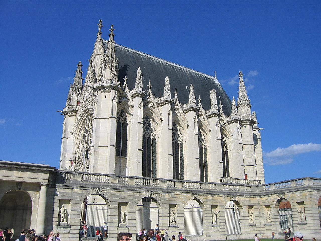 File La Sainte Chapelle du Chateau de Vincennes ancienne demeure royale vers le Bois de  # Chateau De La Chapelle Des Bois