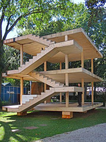 File la maison dom ino de le corbusier biennale d for Giardini a venise