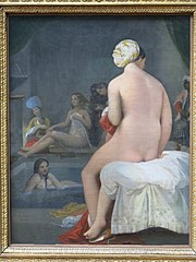 The Little Bather; Harem interior