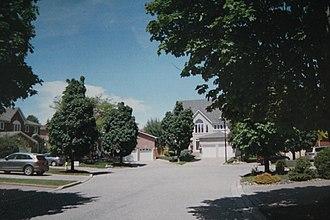 Buttonville, Ontario - Laberta Court, a quiet residential cul-de-sac