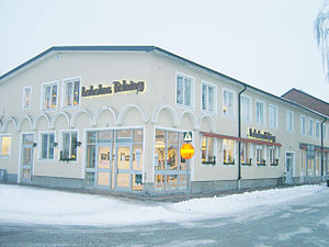 Laholms tidning - The office buildings of Laholms Tidnings