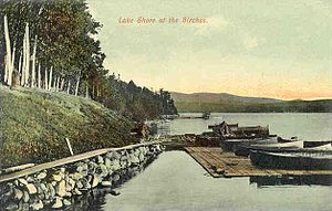 Moosehead Lake - Shoreline in 1912