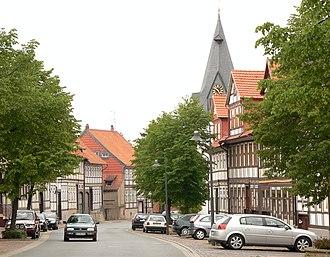Lamspringe - Main street
