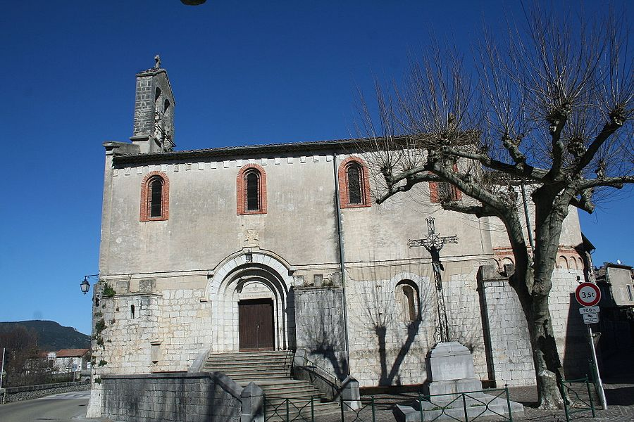 Laroque (Hérault) - église Sainte-Marie-Madeleine.