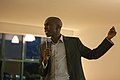 Larry Madowo introducing Science Hack Day Nairobi (6928328054).jpg