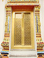 Lascar Gold-plated door - Wat Pho (4509795510).jpg