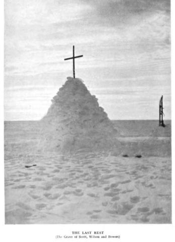 מקום קבורתם של סקוט ואנשיו (ויקיפדיה) - הפודקאסט עושים היסטוריה עם רן לוי