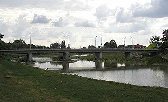 Latorica - Latorica river near Mukachevo