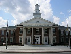 Laurel County Courthouse, 2007
