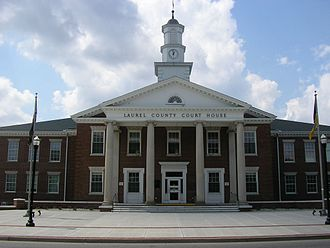 Laurel County, Kentucky - Image: Laurel County Kentucky Courthouse