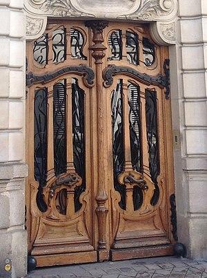 Jules Lavirotte - Image: Lavirotte 151 rue de Grenelle doorway