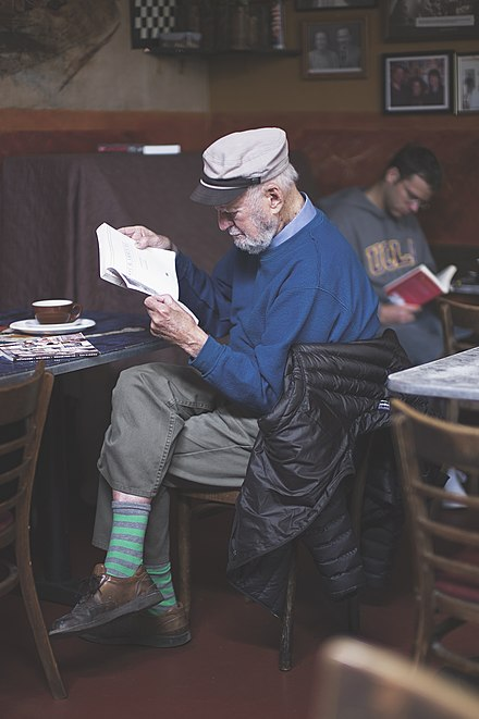 Lawrence Ferlinghetti 2012 04., From WikimediaPhotos