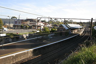 Lawson railway station