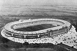 Le Stade municipal de Toulouse (dit parc municipal des sports) en 1939 (maquette d'époque).jpg