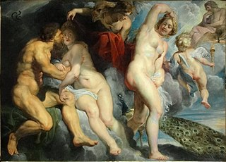 Ixion, king of the Lapiths, deceived by Juno, who he wished to seduce