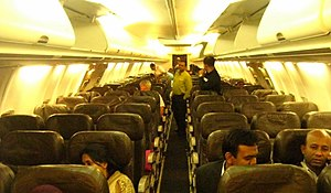 Leather Seats in Boeing 737-800, Biman Flight BG-089 (S2-AFL).JPG