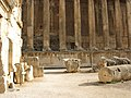 Lebanon, Baalbek, The Great Court of ancient Heliopolis's temple complex.jpg